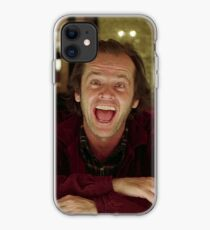 Jack Nicholson The Shining Still - Stanley Kubrick Movie iPhone Case