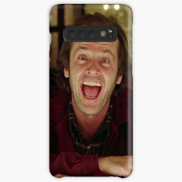 Jack Nicholson The Shining Still - Stanley Kubrick Movie Samsung Galaxy Snap Case