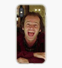 Jack Nicholson The Shining Still - Stanley Kubrick Movie iPhone Case
