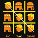 Tic Tac Trump Grope by EthosWear
