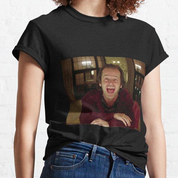 Jack Nicholson L'étincelle brillante - Stanley Kubrick Film T-shirt classique
