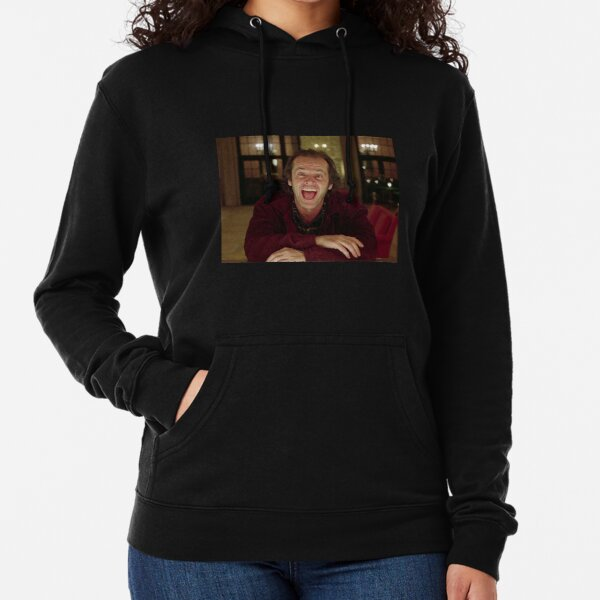 Jack Nicholson The Shining Still - Stanley Kubrick Movie Lightweight Hoodie