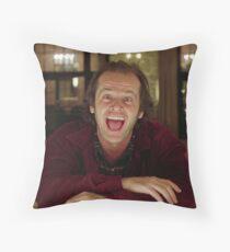 Jack Nicholson The Shining Still - Stanley Kubrick Movie Throw Pillow