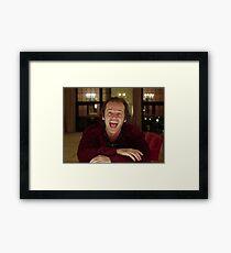 Jack Nicholson Der Glänzende Still - Stanley Kubrick Film Gerahmtes Wandbild