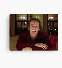 Jack Nicholson The Shining Still - Stanley Kubrick Movie Canvas Print