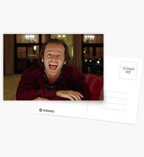 Jack Nicholson Der Glänzende Still - Stanley Kubrick Film Postkarten