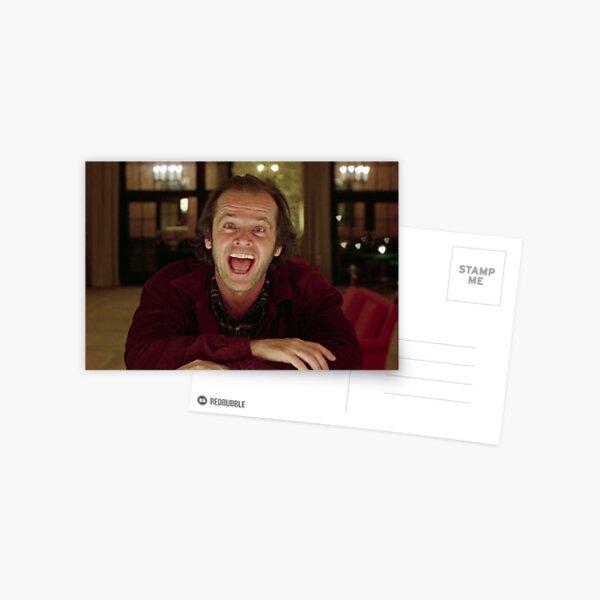 Jack Nicholson L'étincelle brillante - Stanley Kubrick Film Carte postale
