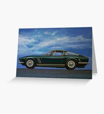 Iso Grifo GL Painting Greeting Card