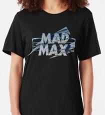 Mad Max film title Slim Fit T-Shirt
