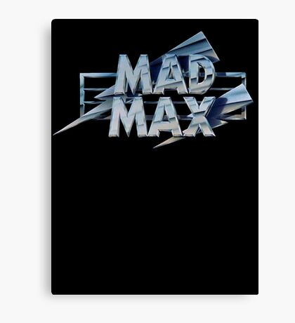 Mad Max film title Canvas Print