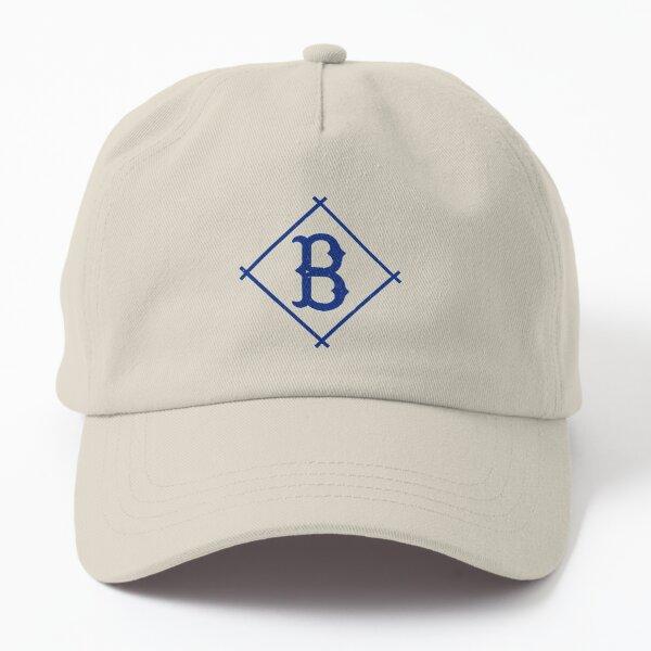 Defunct Brooklyn Dodgers baseball team emblem scratched style Dad Hat