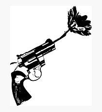 Less bullets Photographic Print