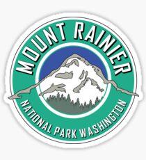 MOUNT RAINIER NATIONAL PARK WASHINGTON 1899 HIKING CAMPING CLIMBING Sticker