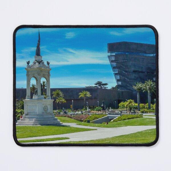 Francis Scott Key monument & de Young Museum, San Francisco Botanical Garden Mouse Pad