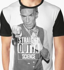 Straight Outta Science Bill Nye Graphic T-Shirt
