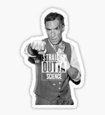 Straight Outta Science Bill Nye Sticker