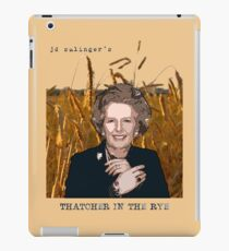 JD Salinger's Thatcher in the Rye iPad Case/Skin