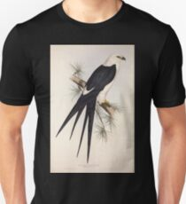 John Gould The Birds of Europe 1837 V1 V5 030 Swallow Tailed Kite Unisex T-Shirt