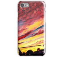 The Jazzy Sunset iPhone Case/Skin