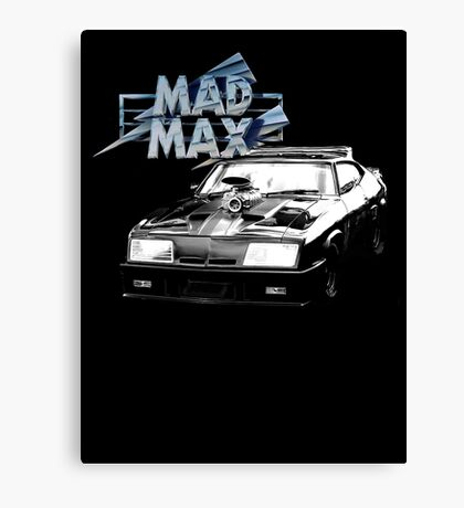 Mad Max Interceptor Canvas Print