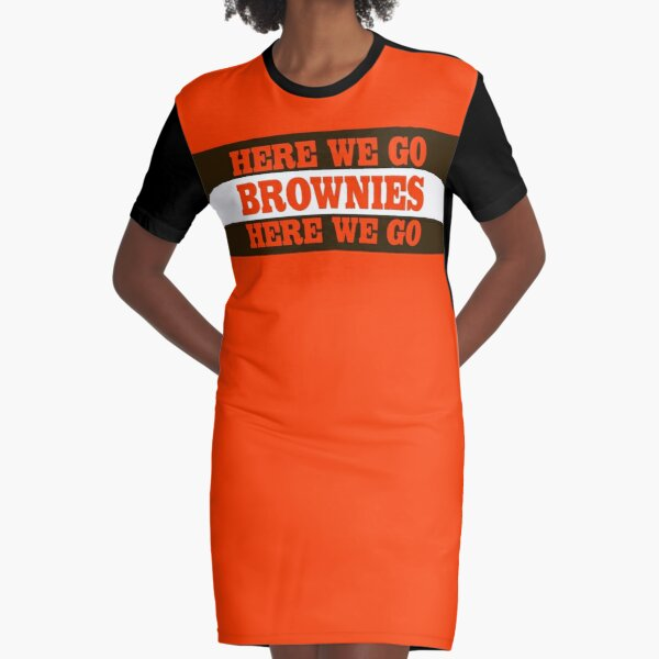 Cleveland Football Brownies Graphic T-Shirt Dress