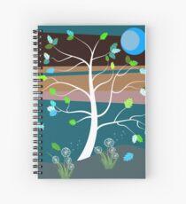 Summer Breeze Spiral Notebook