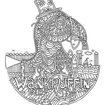 Wankpuffin by shufti