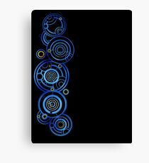 Dr Who's signature Canvas Print