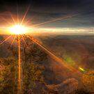Canyon Sundown by Dale Lockwood