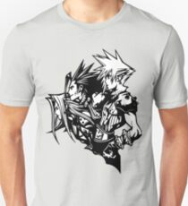 Sephiroth, Zack and Cloud T-Shirt