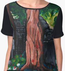 Forest Ruins Chiffon Top