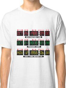 Back To The Tardis Panel Classic T-Shirt