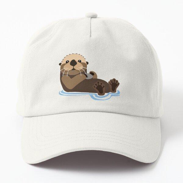Otter emoji Dad Hat