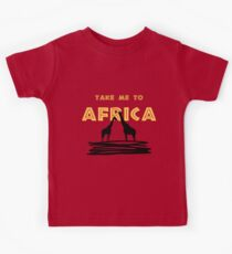 Take Me to Africa Kids Clothes