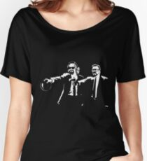 Lebowski Pulp Fiction Women's Relaxed Fit T-Shirt