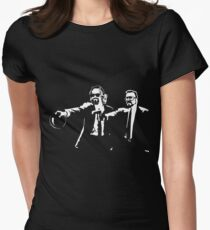 Lebowski Pulp Fiction Women's Fitted T-Shirt