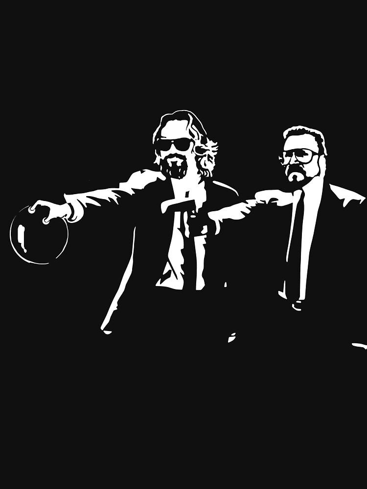 Lebowski Pulp Fiction by pixel-designs