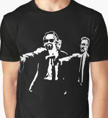 Lebowski Pulp Fiction Graphic T-Shirt