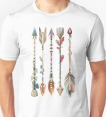 Boho Tribal Arrows Unisex T-Shirt