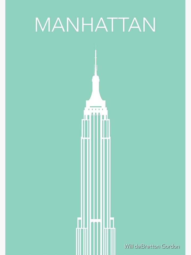 Manhattan by PostArt