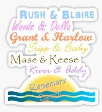 Rosemary Beach Sticker