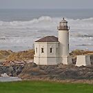 Coquille River Lighthouse by Bryan D. Spellman