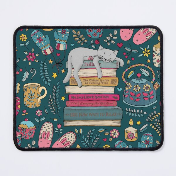 How to Hygge Like a Cat Mouse Pad