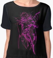 °FINAL FANTASY° Final Fantasy II Neon Logo Women's Chiffon Top