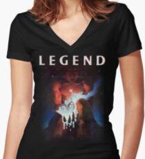 Legend Shirt! Women's Fitted V-Neck T-Shirt
