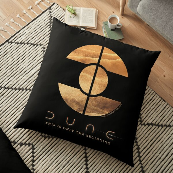 Dune - This is only the beginning Floor Pillow