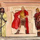 Barabbas, Pilate and Jesus by Anne Gitto
