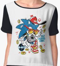 Sonic the Hedgehog - Old School Chiffon Top