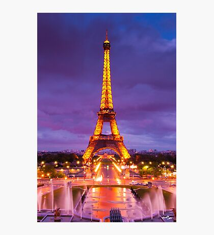 Eiffel at Dawn Photographic Print