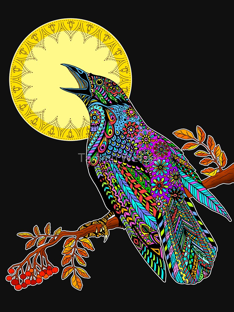 Electric Crow by TammyWetzel